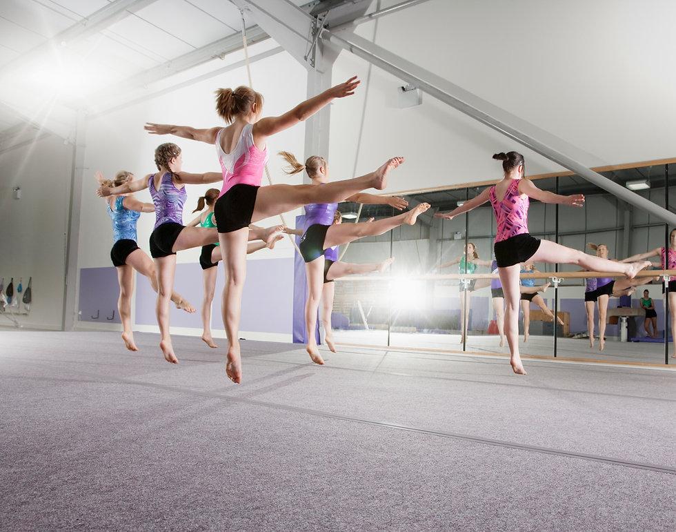 Aerobic Gymnastics Class