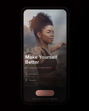 Fitness Training App