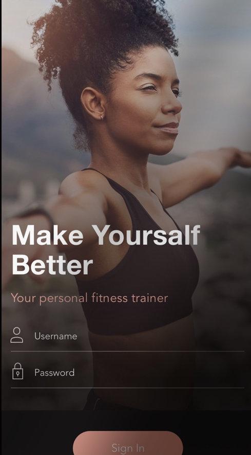Fitness Training App