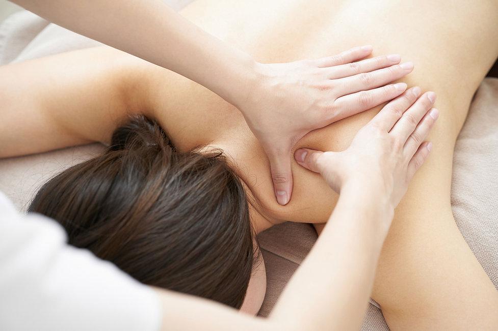 Masaje de hombro