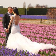 Flower Field Wedding