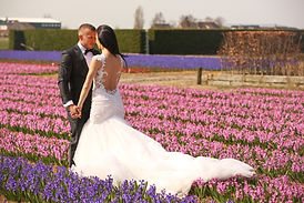 Flower Field Wedding