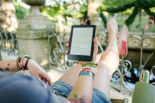 Een digitaal boek lezen