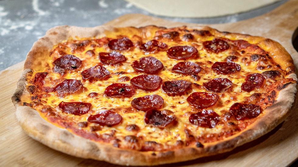 Pepperoni Mini Pizzas