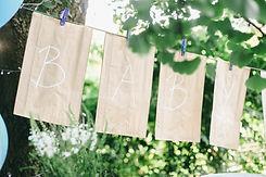 Baby dekorativní znak