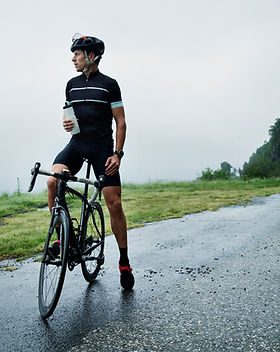 Cycliste masculin