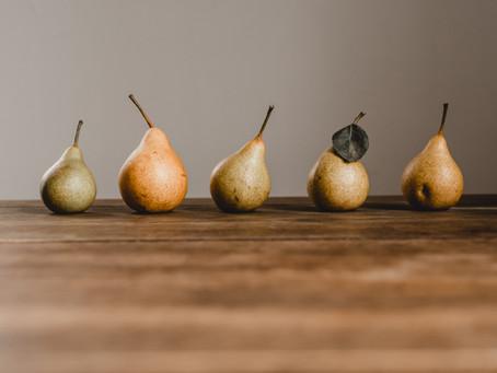 Pêra asiática: pouco calórica, rica em potássio e vitamina A