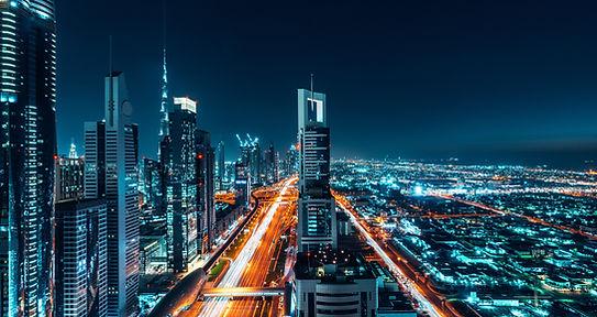 Vista de la ciudad de Dubai