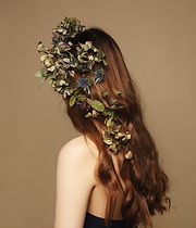 Flowers in Hair