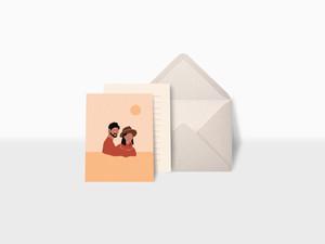 ポストカードとグリーティングカードの違いは??