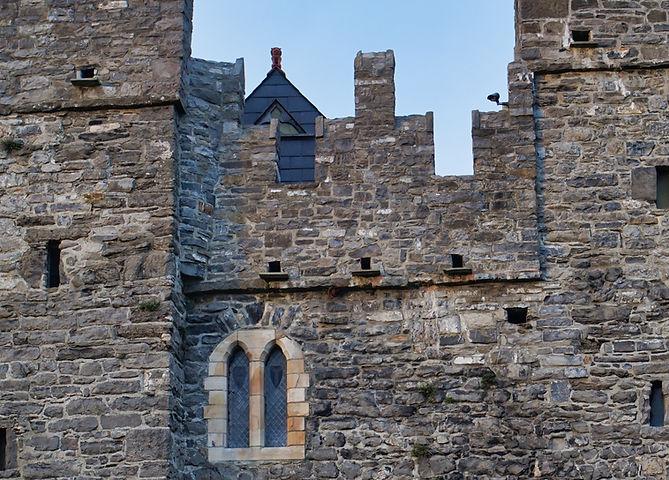 Mur de château