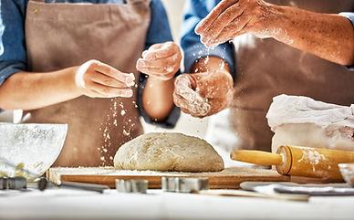 Flour on Dough