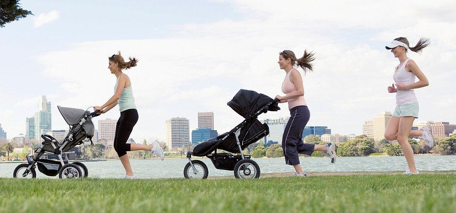 Jogging avec poussette
