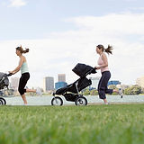 Joggen mit dem Kinderwagen
