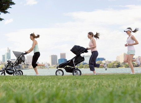 The Running Mama Series: Jogging Stroller Safety Tips