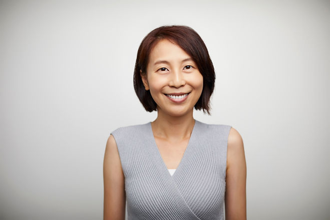 Smiling Mature Middle Aged Woman
