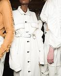 Vestida de blanco
