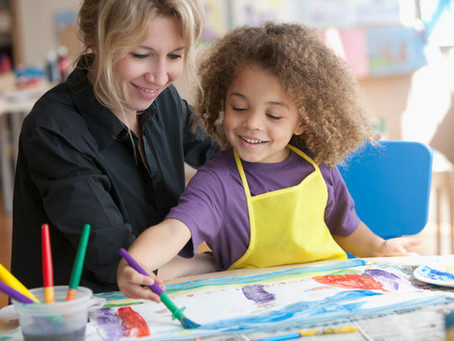 Summer Camp at Home with Busy Toddler - Art Week