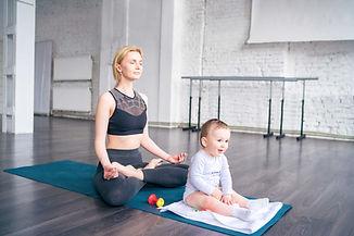 Meditare con il bambino