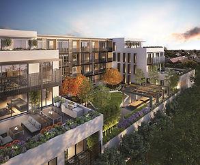 Complexe de logements modernes