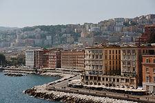 Vista su Napoli