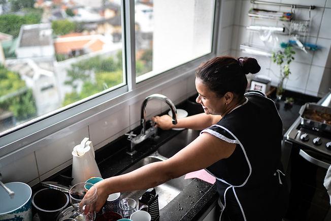 Nettoyage de la vaisselle