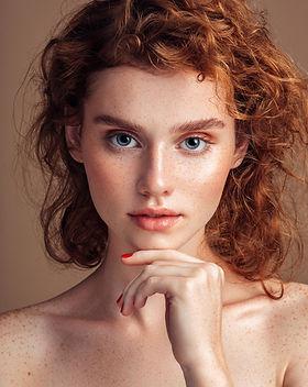 Mode Model Porträt