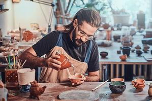 Trabalhando com argila