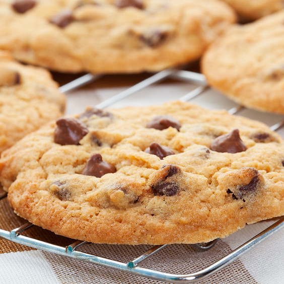 Vegan - Chocolate Chip Chia Cookies!
