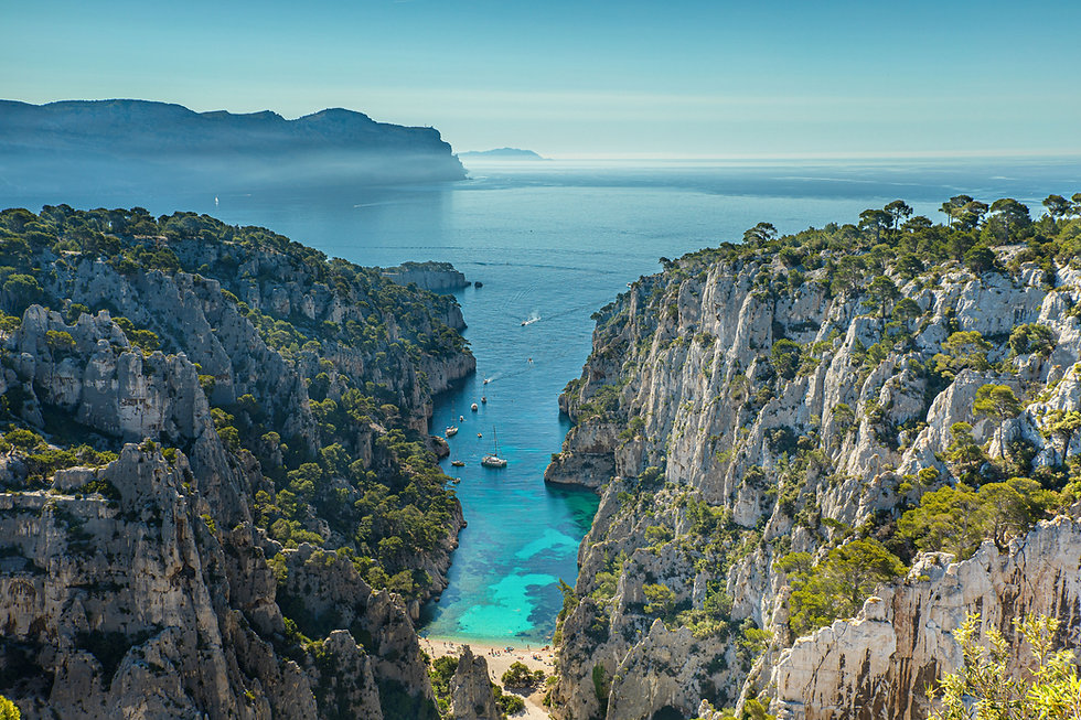 The Calanques
