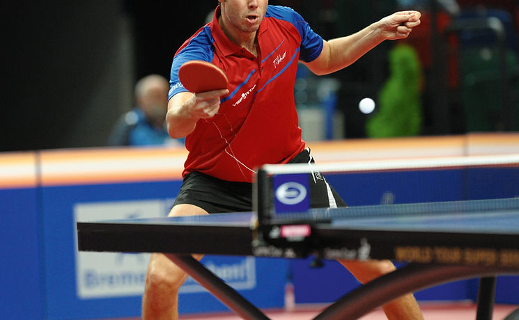 Giocatore/giocatrice di ping pong