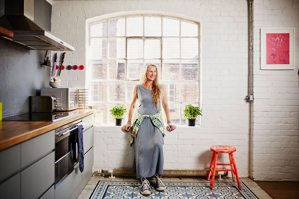 Standing in Kitchen