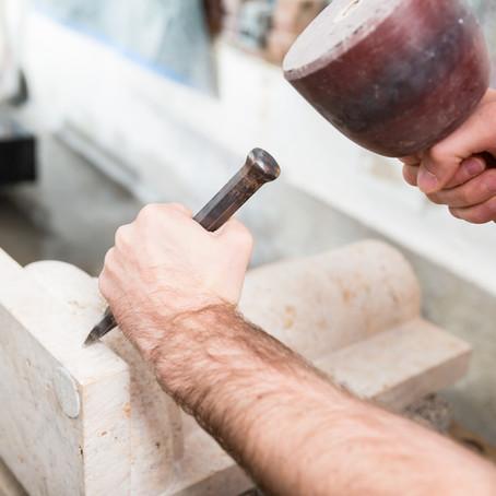 Mit Sandstein arbeiten - Leicht schwerer als man glaubt
