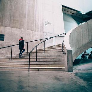 Escaleras de la galería