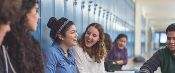 Middelbare schoolvrienden