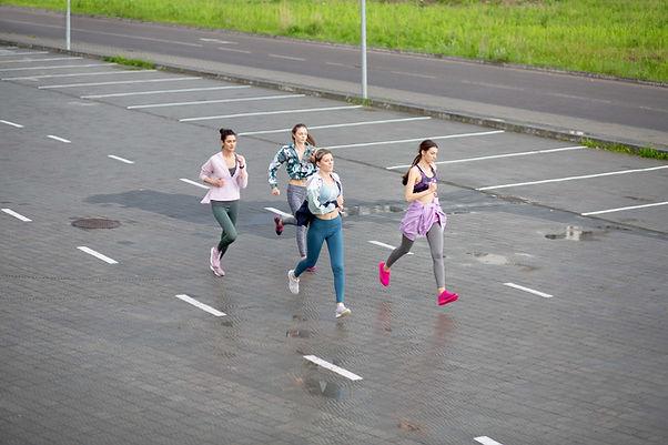 Girls Running Group