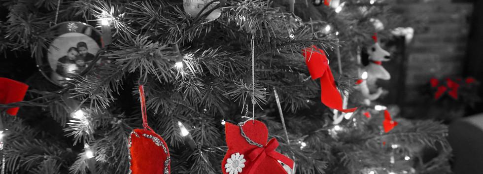 Bibelots sur l'arbre