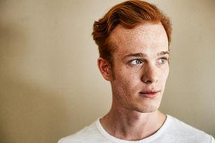 Red Head Male Model
