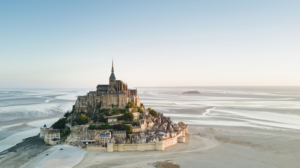 Mont St. Michel, one of France's most visited sites in Brittany