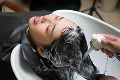 Friseursalon-Shampoo-Wäsche