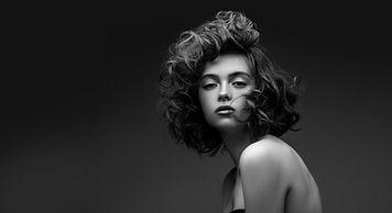 Stilvolle Frisur