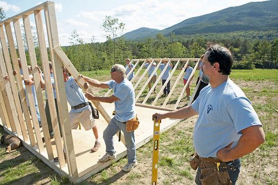Budování domů