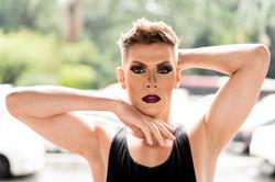 Drag Make-up/ Gothic Make-up/ Make-up for Men/ Contouring Make-up