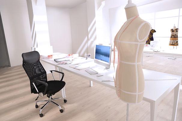Modedesigner-Büro