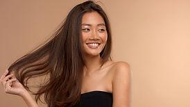 Bruin haarmodel