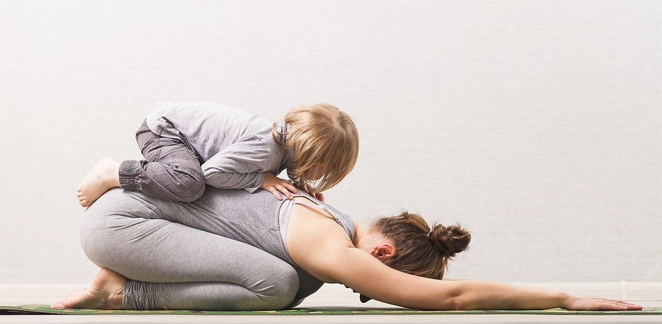 Yoga mère et fille