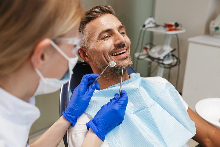 Patient och tandläkare