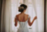 Back of Wedding Dress