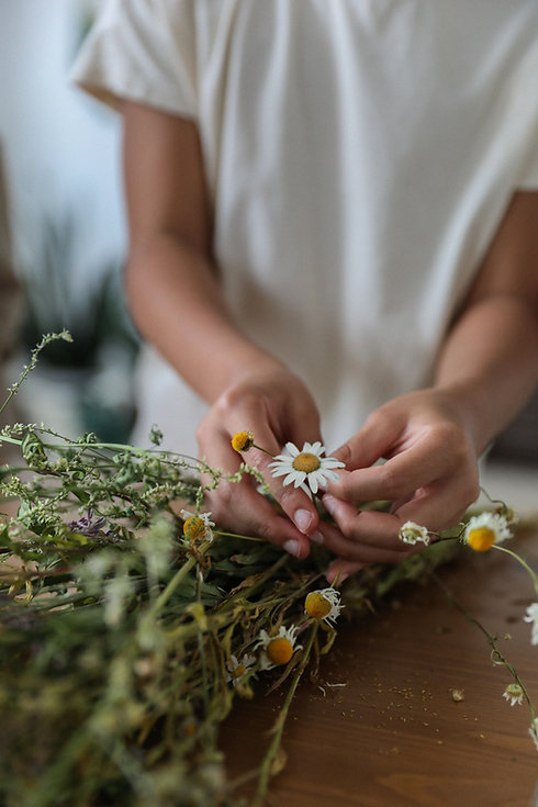 Floricultura e Yoga