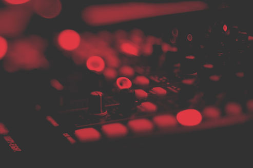 Manopole del mixer audio